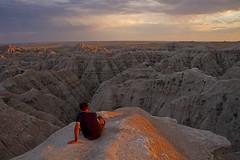 Korey @ Badlands (Matt Champlin) Tags: travel people man beautiful canon amazing peace peaceful stunning badlands incredible enjoyment 2012 korey badland stunninglandscapes