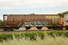 NOWAY (The Braindead) Tags: art minnesota train bench photography graffiti painted tracks minneapolis rail explore beyond the