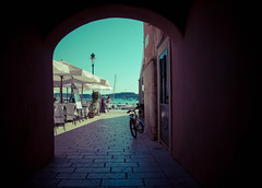 Rovinj (gre.ceres) Tags: travel holiday mare peace croatia vista pace viaggi arco croazia rovigno rovinj vacanze hrvatska quiete