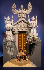 Temple of Ennoc (Fianat) Tags: light landscape lego contest eurobricks