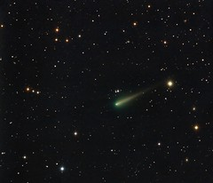 Comet ISON (Terry Hancock www.downunderobservatory.com) Tags: camera sky me monochrome night stars photography mono pier backyard fotografie leo photos space shed science images astro observatory telescope astrophotography astronomy imaging s1 clifford ccd universe comet cosmos tec paramount luminance 140 teleskop astronomie ison byo spohn deepsky c2012 qhy9 qhy9m