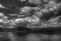 Great Prespa in black and white