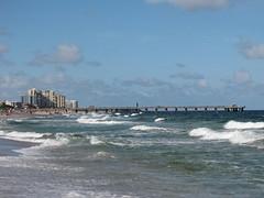 Deerfield Beach, Florida (Alexanyan) Tags: ocean blue sea usa beach america coast florida fort united atlantic lauderdale deerfield states