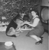 Marge + Dog + Christmas Tree (David Zerlin) Tags: photohistory margewunder