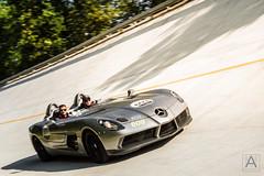 Mercedes-Benz SLR McLaren Stirling Moss (*AM*Photography) Tags: auto slr car mercedes nikon automotive special exotic german mclaren tribute rare supercar v8 autodromo roadster monza sopraelevata 1000miglia stirlingmoss d3200 worlcars