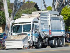 Peterbilt refuse truck (mark6mauno) Tags: truck nikon day parade annual refuse nikkor forces peterbilt armed torrance d4 2015 70200mmf28gvr 56th nikond4 56thannualtorrancearmedforcesdayparade