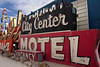 City Center Sign at the Neon Sign Museum in Las Vegas (eoscatchlight) Tags: neon lasvegas neonsign retired rustyandcrusty yesteryear casinosign citycentermotel calnevari ofdaysgoneby neonsignmuseum