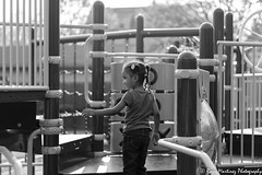 My World Playing (Roger Martinez Photography) Tags: life blackandwhite bw girl playground kids youth fun happy 50mm nikon child nikond5300