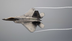 Lockheed Martin F-22A Raptor (fisherbray) Tags: usa acc nikon unitedstates florida military airshow raptor pam f22 airforce usaf hornets baycounty lockheedmartin tyndallafb 325fw 43fs f22a aircombatcommand d5000 kpam gulfcoastsalute 325thfighterwing fisherbray 43rdfightersquadron 054107