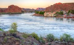 Sunset on the Colorado River (ap0013) Tags: sunset arizona river twilight colorado az coloradoriver parker ariz parkeraz parkerarizona
