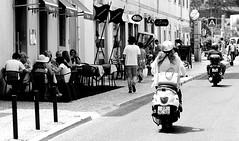 (mgkm photography) Tags: street travel urban blackandwhite bw blancoynegro tourism portugal monochrome 50mm calle vespa sintra streetphotography gimp streetphoto blackandwhitephotography streetshot urbanphotography pretobranco travelphotography monochromephotography blackwhitephotos ptbw nikonphotography opensourcephotography ilustrarportugal d7000 europeanphotography streettogs bnwportugal bnweurope