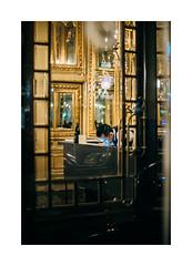 Chiado, Lisboa (Sr. Cordeiro) Tags: street portugal window night 50mm lights golden fuji display pentax lisboa lisbon f14 mirrors dourado noite fujifilm janela luzes rua reflexos espelhos chiado reflexes montra pentaxm xpro1 focalreducer camdiox