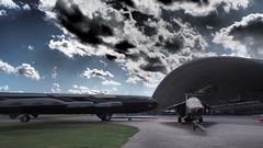 B52 and F111A (Rick Dickinson) Tags: duxford b52 iwm f111a