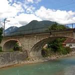 Garmisch - Eisenbahnbrücke über die Loisach thumbnail