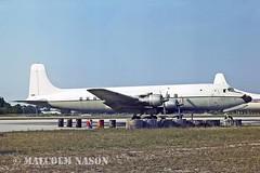 DOUGLAS C118B N845TA ex USN 131572 (shanairpic) Tags: usnavy dc6 propliner opalocka c118 131572 douglasc118 n845ta