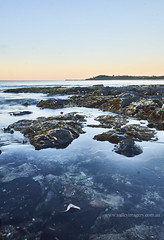 Flat rock beach (Valley Imagery) Tags: ballina nsw water beach dawn ocean rock australia sharpes