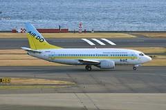 JA8595 Boeing B735 HND 02Dec2012 (Citation Ten) Tags: ja8595 b735 ado akx hnd