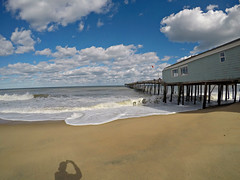 Avalon Pier (BrandonWaterfield) Tags: avalon pier obx outer banks nc beach shadow gopro