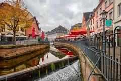 Am Markt (FotoCorn) Tags: saarburg duitsland hochwald rheinlandpfalz de leuk river city stad waterval