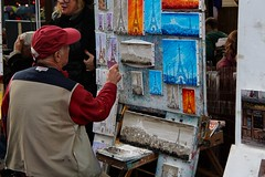 IMG_9554 (Irirarara) Tags: paris francia france pintor montmartre torreeiffel eiffeltower toureiffel eiffel