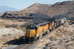 Another Hill (ZManMatt) Tags: potash ldg51b gp402 emd train railroad utah railway riogrande up1482 up canecreek canecreeksubdivision canecreeksub
