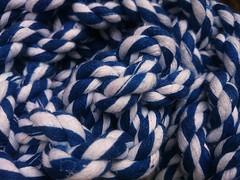 Gordian Knot? (esala.kaluperuma) Tags: knot esala kaluperuma art gordianknot greekhistory story history puzzle blue white bluewhite