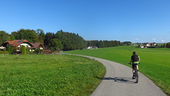 um den Obertrumersee (twinni) Tags: mw1504 16102016 trekkingbike trekkingbiketour salzburg austria sterreich flachgau seenland obertrumersee obertrum trumer julian superv super v 700 cannondale