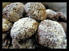 in der Weihnachtsbckerei (karin_b1966) Tags: pltzchen cakes selbstgemachtes selfmade weihnachtsgebck christmascookies 2016 schneeblle snowballs yourbestoftoday