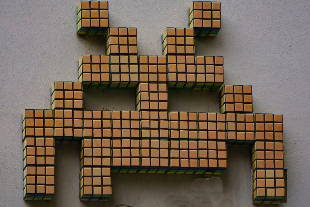 Wunderbar Invader In Paris (Marco Braun) Tags: Streetart Graffiti Paris 2016 Mosaik  Mosaic Mosaique
