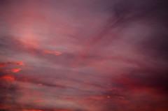 Cuando te busco no hay sitio en donde no ests. (ramirofmunicoy) Tags: nubes clouds cloud 50mm d5100 nikonuser nikon violeta rosa azul blue pink violet abstracto uniforme nube cielo sky formas buenosaires argentina sudamerica america 18 f18
