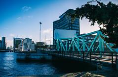 City view (Maria Eklind) Tags: lighthouse canal building malmö studiomalmö fyr water bro sweden tree studio bridge architecture klaffbron skånelän sverige se