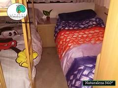 Camas Individual y Litera Caravana (brujulea) Tags: brujulea campings almocita almeria camping camas individual litera caravana
