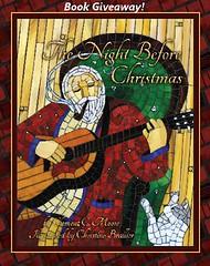 Book Give Away (cbmosaics - Christine Brallier) Tags: santaclaus reindeer christmas holiday art mosaics stainedglass mosaic postcards book thenightbeforechristmas giveaway cbmosaics