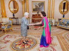 New Sri Lankan High Commissioner Amari Wijewardene presents credentials to Queen Elizabeth II (South Asian Foreign Relations) Tags: new sri lankan high commissioner amari wijewardene presents credentials queen elizabeth ii