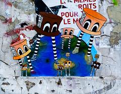 HH-Wheatpaste 3123 (cmdpirx) Tags: hamburg germany reclaim your city urban street art streetart artist kuenstler graffiti aerosol spray can paint piece painting drawing colour color farbe spraydose dose marker stift kreide chalk stencil schablone wall wand nikon d7100 paper pappe paste up pastup pastie wheatepaste wheatpaste pasted glue kleister kleber cement cutout