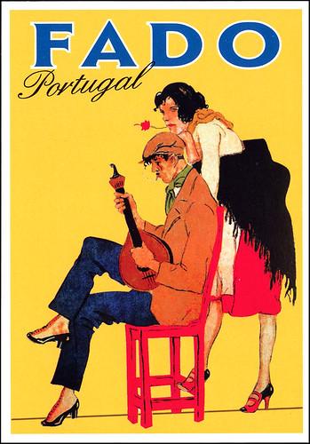 postcard - Portuguese Fado