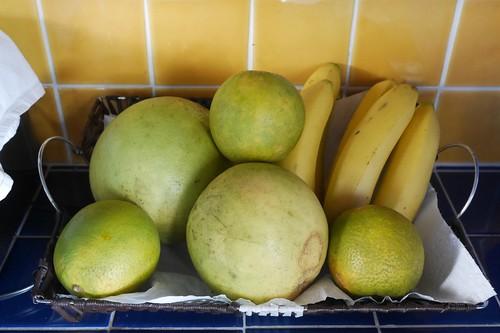 備え付けの果物