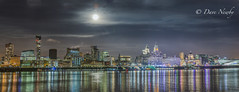 Super-moon 2016, over Liverpool (davenewby123) Tags: supermoon liverpool rivermersey nighttime davenewby supermoon14112016 skyline outdoor architecture city fullmoon liverpoolwaterfrontfullmoon merseyside famousbuildings night davidnweby davenewby2 fishingboat sunset landscape seascape wirral sonya7m3 lighthouse