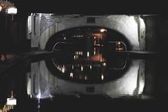 Broad Street Tunnel (kate&drew) Tags: birmingham birminghamuk england canal tunnel reflection night broadstreettunnel