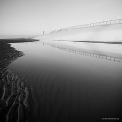 Blackpool reflections (Mark-F) Tags: blackpool lancashire fylde mono xf18mmf2r fujifilmxpro1 markymarkf markfreeman markf markfreemanphotogrpahy