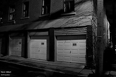 Avenue Marchand 2 (Denis Hbert) Tags: denishbert anthropogeo faubourgmlasse centresud montreal montral qubec quebec canada 2015 monochrome montrealnight montrealcentresudnight montrealfaubourgmlassenight ngc noiretblanc nuitcentresud nuitmontreal nuitfaubourgmlasse nuit night bw blackandwhite blackwhite black city calme extrieur automne avenuemarchand steet shadowy shadows shadow fullum fall dark darkandlight ombrage ombre sombre urban urbain rue ville tranquilit trottoir quiet