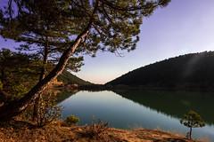 Kzlhisar Lake / Uak (hilmi_cskn) Tags: uak landspace light lake turkey tree travel trkiye tourism turizm trees reflection sky sun gl green olympus outdoor orman color