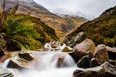 Scottish Highland - 002 (Akilselvan Photography | www.akilselvan.com) Tags: scotland scottishhighland travelphotography long exposure waterfall silkysmooth unitedkingdom akilselvanphotography nikond7000 rocks mountains snow endofautumn winter