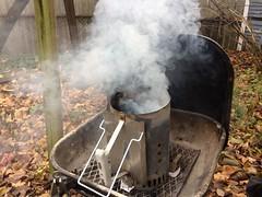 Smokey Grill Chimney (stevendepolo) Tags: smokey grill chimney