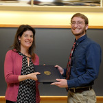 Professor Eva Pomerantz, Robert Shepard: Honors in Psychology & James E. Spoor Scholarship recipient