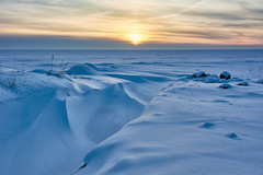 Tauvo2 (mikkovares) Tags: j ilta siikajoki tauvo kinos maisema merenj merenranta auringonlasku jniksenjlki iltaaurinko lumi pakkanen