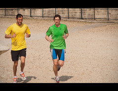 More Parisien Runners..... (Stuart-Lee) Tags: street paris men spring candid running tuileries athletes jogging printemps iledeparis