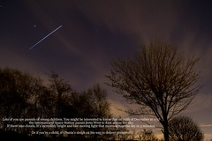 International Space Station over Preston (Terry Moran Photography) Tags: santa sky station night stars nikon space satellite astro nasa international shuttle preston saturn discovery iss d3100