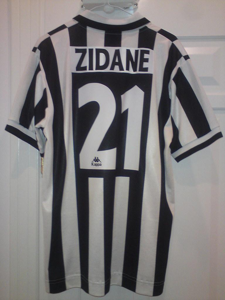 08be02ba2 Juventus Zidane Shirt 96-97 (Shamlan17) Tags  shirt juventus zidane 9697