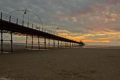 Southport Pier (Gary Palfreyman Photography) Tags: sunset sea beach southport southportpier garypalfreyman garypalfreymanphotography